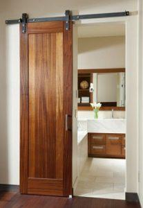 ประตูบานเลื่อนไม้